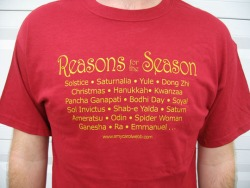 Reasons for the Season Tshirt