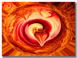 Heart of liquid fire