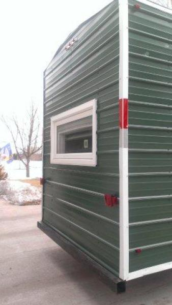 For Sale permanent 8'x14' Ice FishingHouse