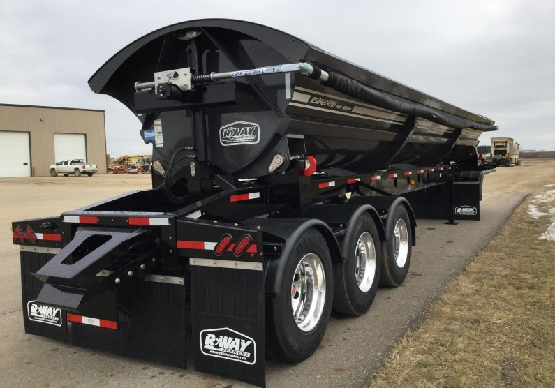 Heavy Duty Belly Dump Trailer from Krain Creek Fabrication in Long Prairie, MN