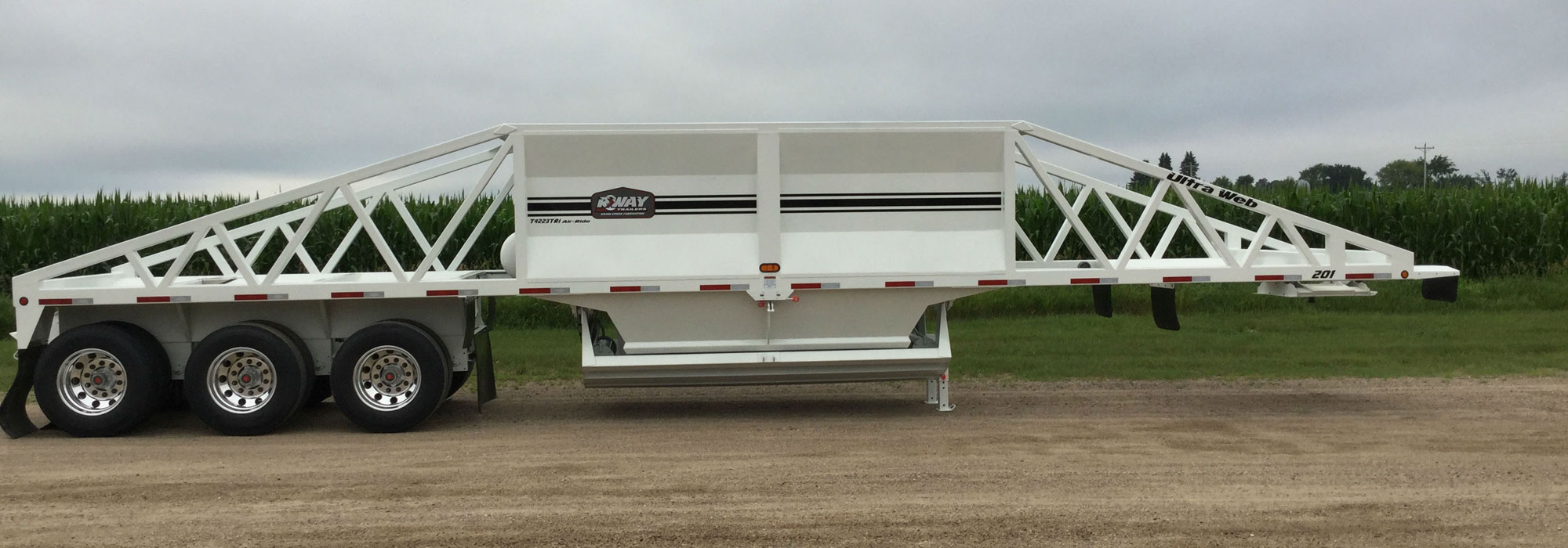 R-Way Belly Dump Trailer from Krain Creek Fabrication in Long Prairie, MN