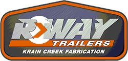 R-Way Trailers from Krain Creek Fabrication