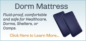 Dorm Mattress | Dorm Beds Water Proof Vinyl Mattress