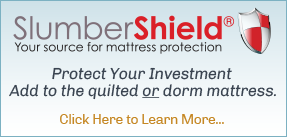 slumber shield mattress protector, mattress cover