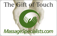 Massage Specialists Gift Cards