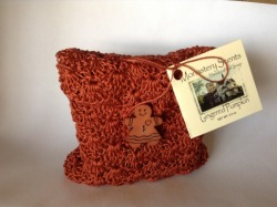 Soap in a Crocheted Bag