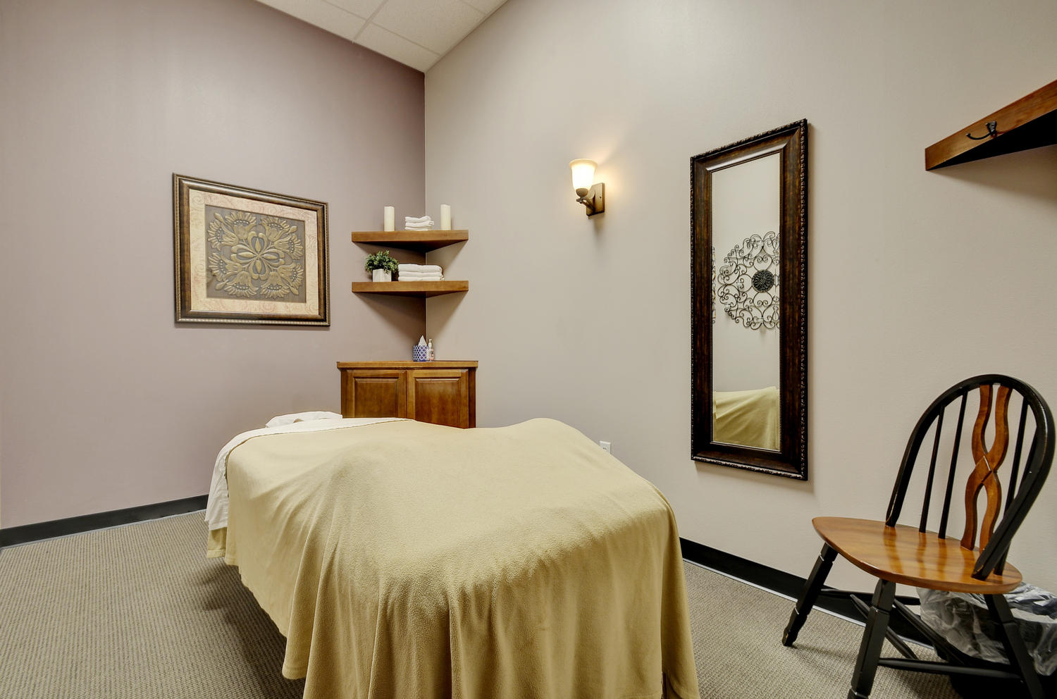 Oak Haven Massage Therapy Room