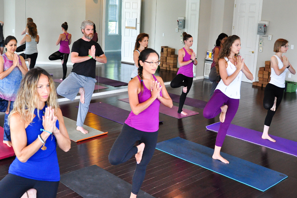 Hot  and Warm Yoga Classes offered at Onyx Yoga Studio in Warren, NJ, Somerset County