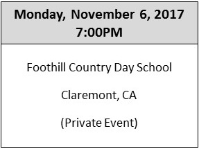 11.6.17 Event - Foothill Country Day School