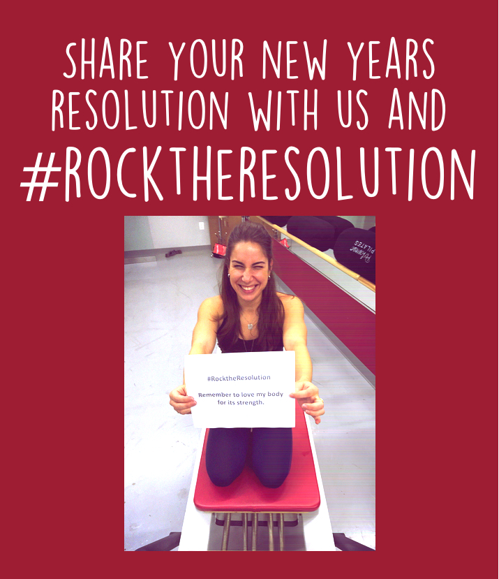 rock the resolution poster