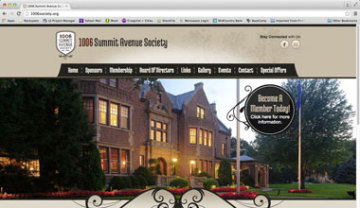 1006 Summit Avenue Society Website