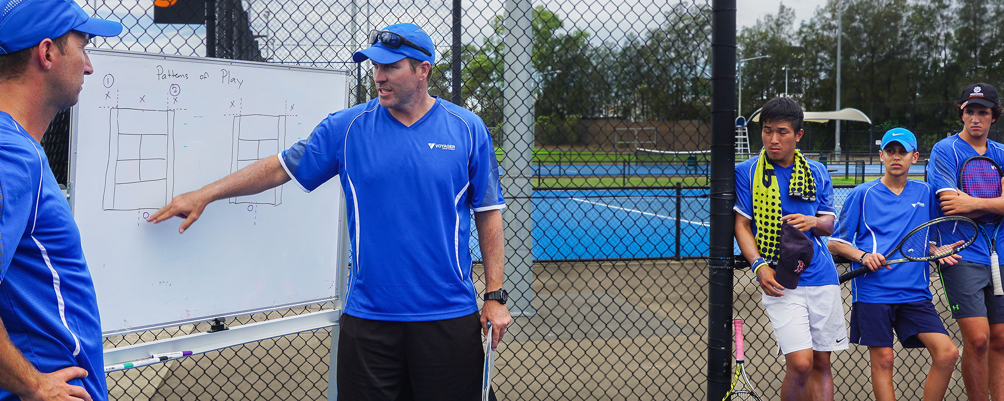 Tennis Instruction at Voyager Tennis Academy