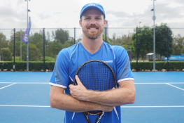 Ryan Henry at Voyager Tennis Academy