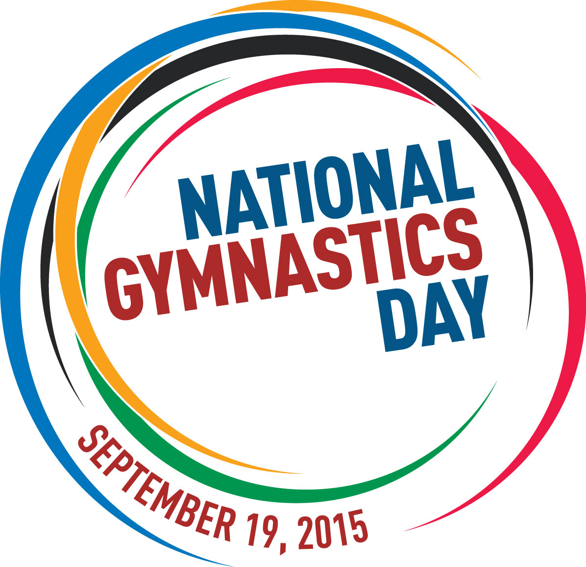 National Gymnastics Day Logo