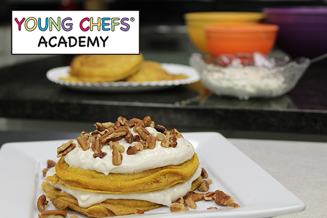 Pumpkin Cheesecake Pancakes 2