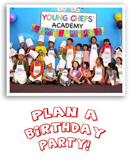 Birthday Parties with Young Chefs Academy