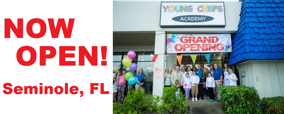 Young Chefs Seminole FL Grand Opening