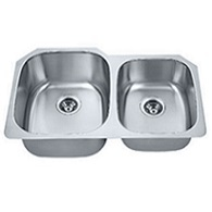 Madeli 60/40 stainless steal sink