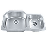 Madeli 70/30 stainless steal sink