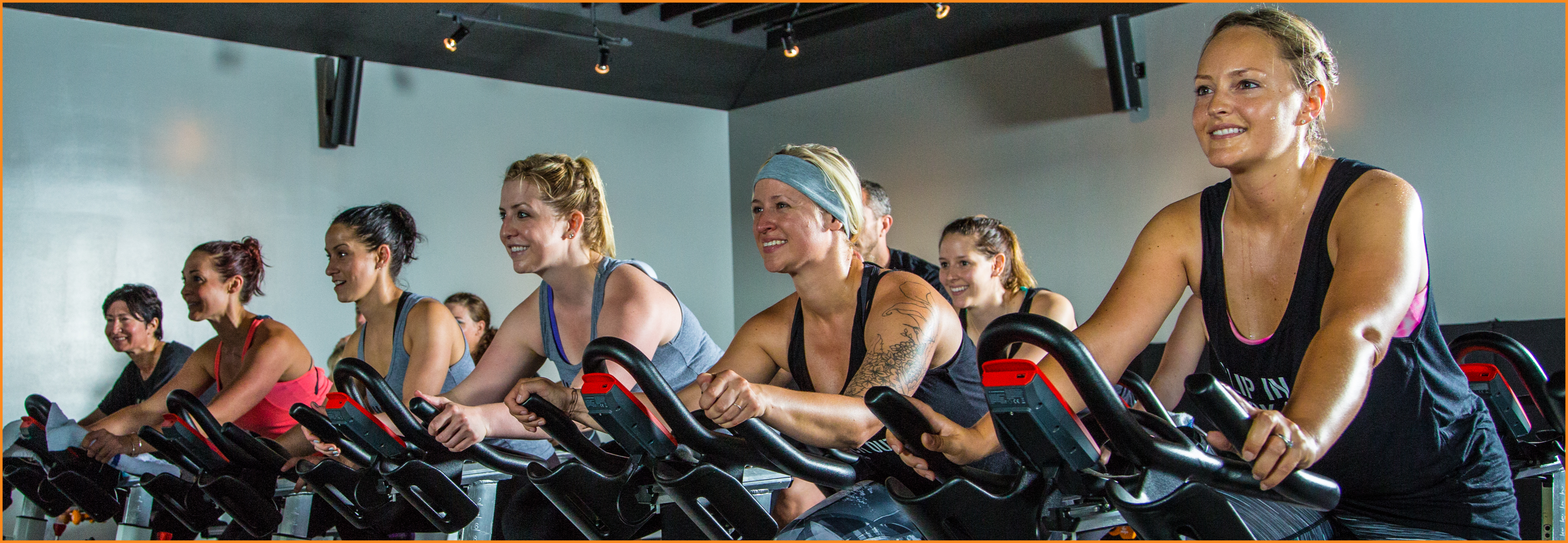 Indoor Cycling Class at Anchorage Yoga & Cycle