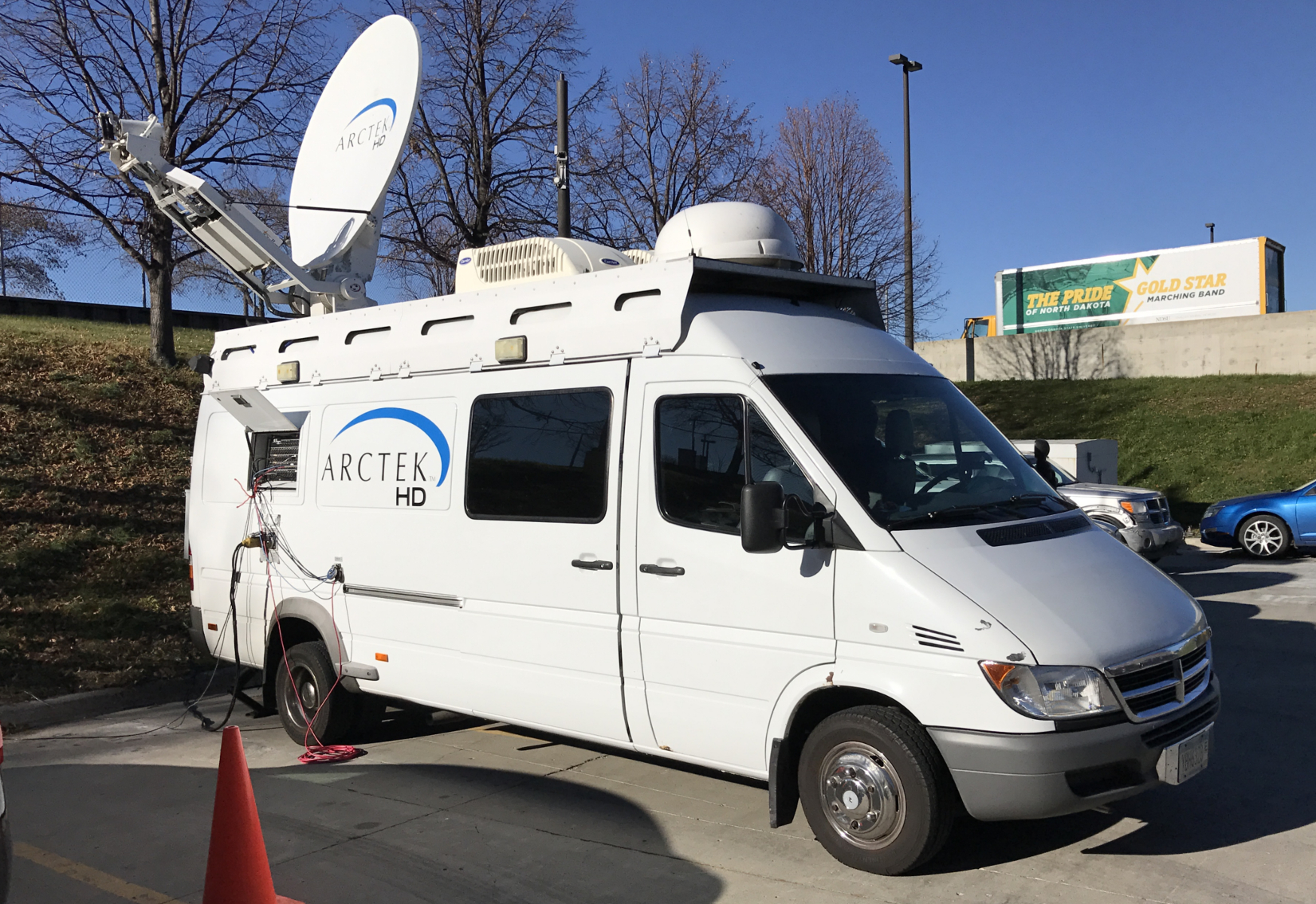 ARCTEK Satellite Trucks