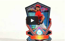 Chrome FX Baseball Card
