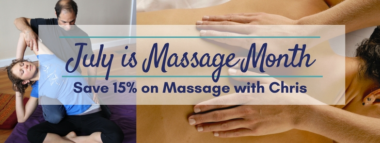 Massage Sale Banner