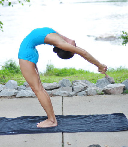 Standing Camel Pose