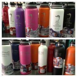 Bikram Yoga Bottles On Shelf