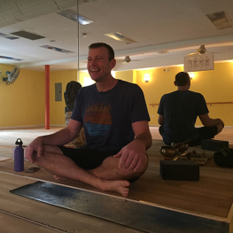 Brian Lenihan; Yoga Instructor at Bikram Yoga Roslyn
