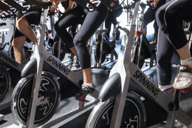 The Workout at Blazing Saddles Indoor Cycling