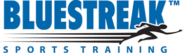 Bluestreak Sports Training Logo