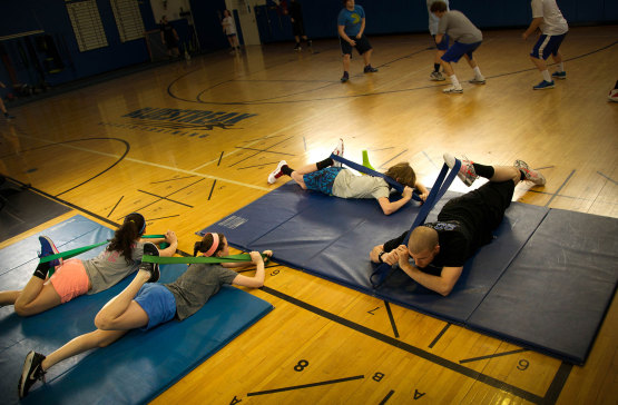Youth Fitness Program at BlueStreak Sports Training