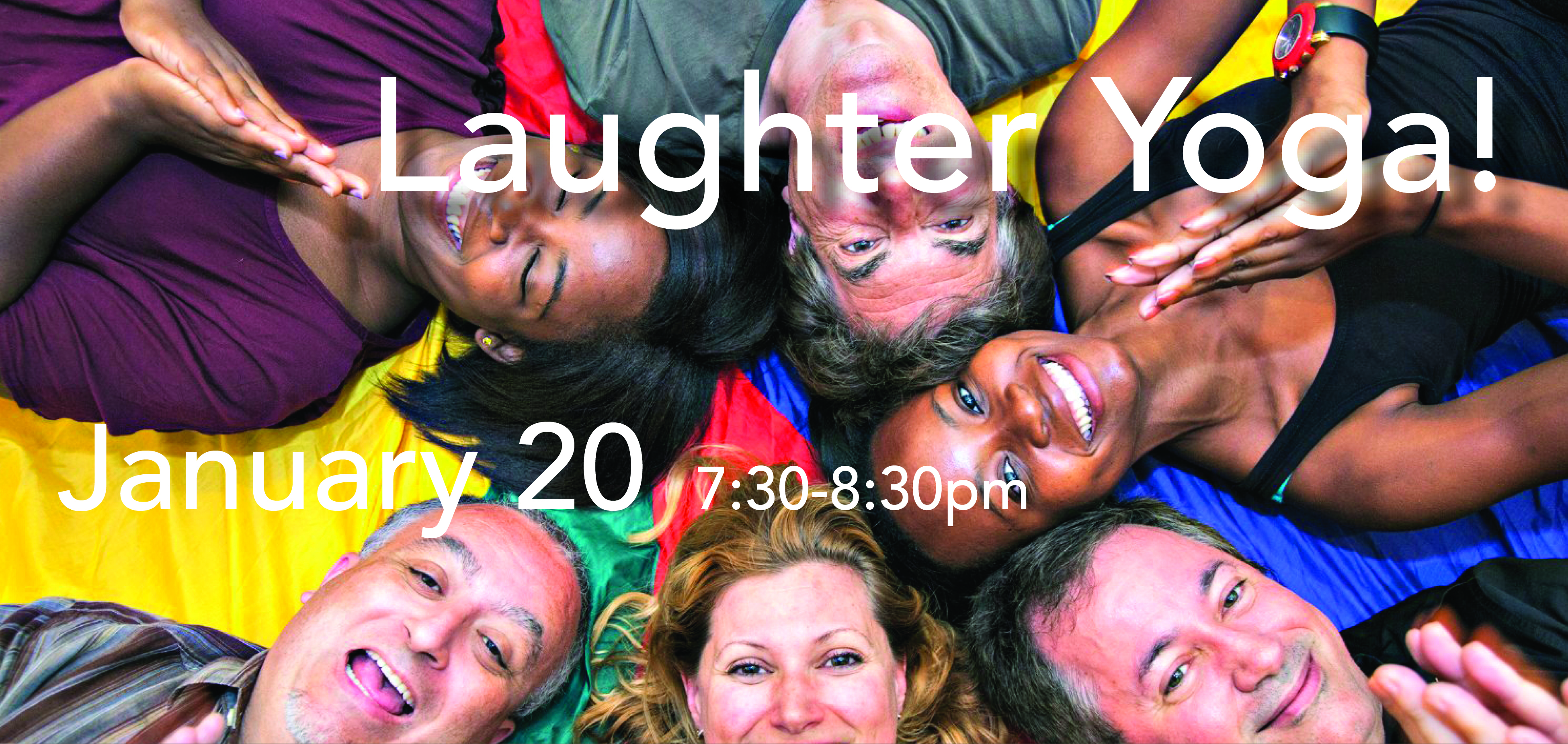 laughter yoga banner