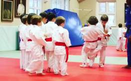 Students Practicing During a Midi Judo Class at The Budokwai