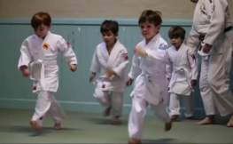 Mini Judo Class at The Budokwai Martial Arts Club