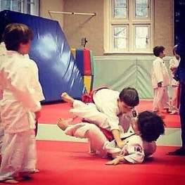 Junior Judo Class at The Budokwai Martial Arts Club