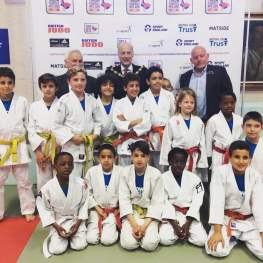 Junior Judo Students at The Budokwai