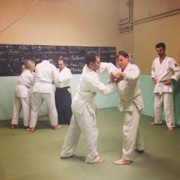 Aikido Class in Session at The Budokwai Martial Arts Club