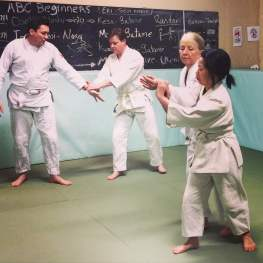 Students of The Budokwai During an Aikido Class