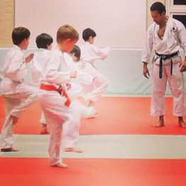 Junior Karate Class at The Budokwai Martial Arts Club