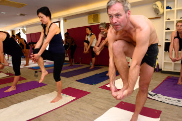 Bikram Yoga Classes at Hot Yoga South