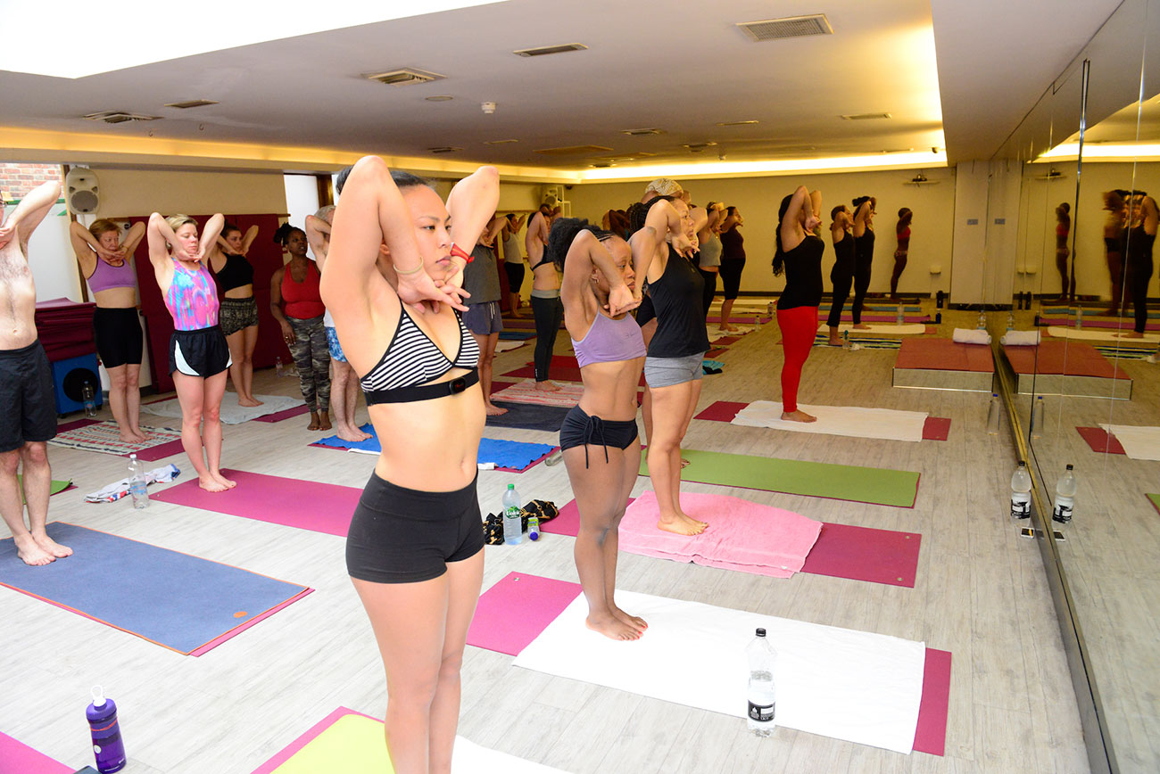 Your First Class at Hot Yoga South