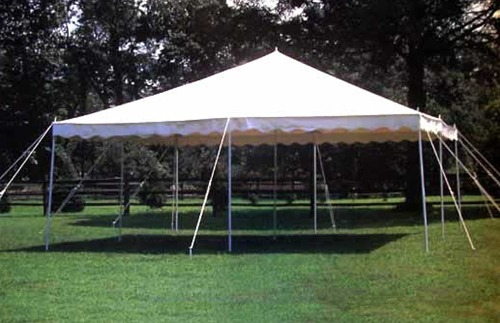 20x20 Canopy, Rope and Stake