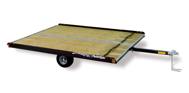 snowmobile trailer, 2 place