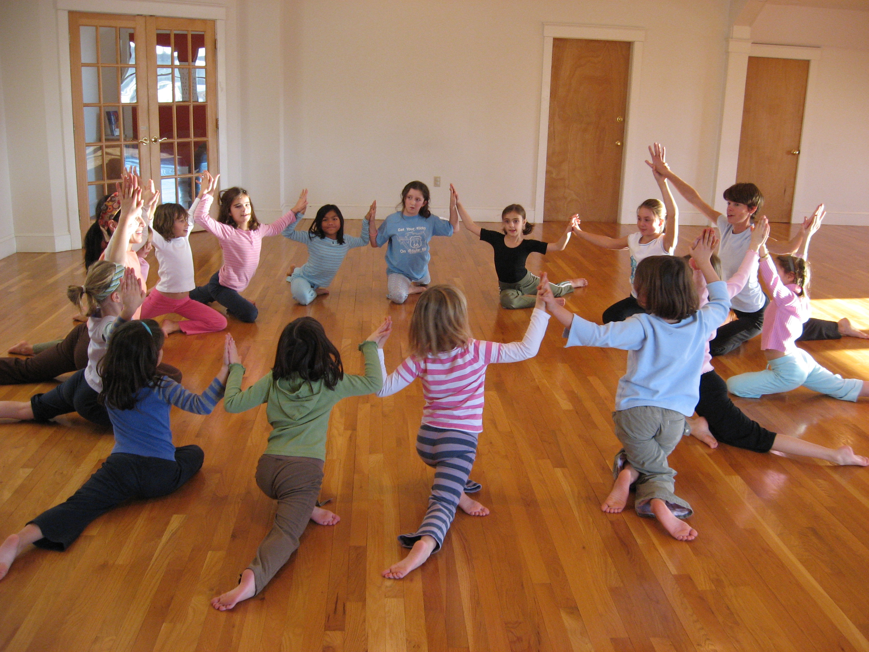 Kids Group Yoga