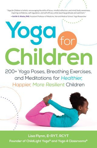 Yoga Children Book Cover