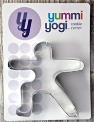 Yummy Yogi Cookie Cutter-Warrior 2 Pose
