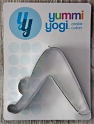 Yummy Yogi Cookie Cutter-Downward Dog Pose