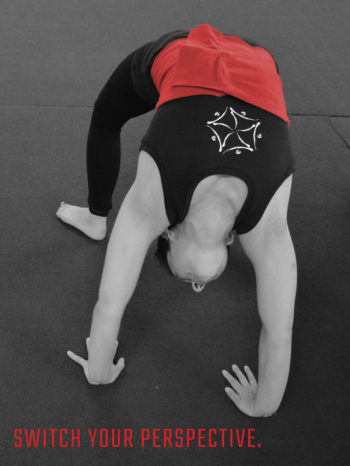 Student practices the bridge in Stretching class | Circus Center